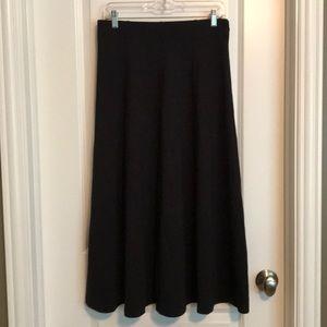 Lands End knit skirt - 10